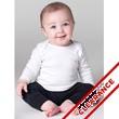 Infant Baby Rib L/S Lap T-Shirt