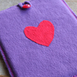 Needle Felted iPad / iPhone Cover - A Lil Blue Boo Tutorial