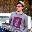 DIY Tanagram Sweater with Inkodye