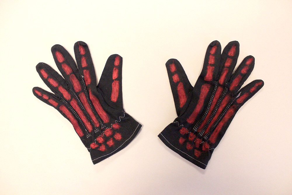 Now for the gloves