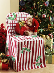 Holiday Chair Cover